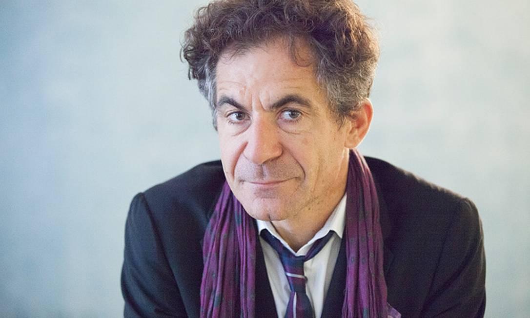 O físico e filósofo francês Étienne Klein, autor de O tempo que passa (?) Foto: Leonardo Cendamo / Getty Images
