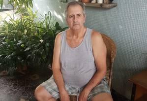 Empresário Erminio Nadin, de 67 anos, é um dos alvos da operação de busca determinada pela Supremo Tribunal Federal (STF) Foto: Sérgio Roxo / Agência O Globo