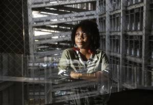 Danielle Cristina foi uma das primeiras cotistas da Uerj Foto: Marcos Ramos / Agência O Globo