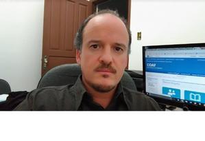 Carlos Antonio dos Santos, de 50 anos, corretor de imóveis que foi um dos alvos da operação contra fake news Foto: Reprodução / Facebook