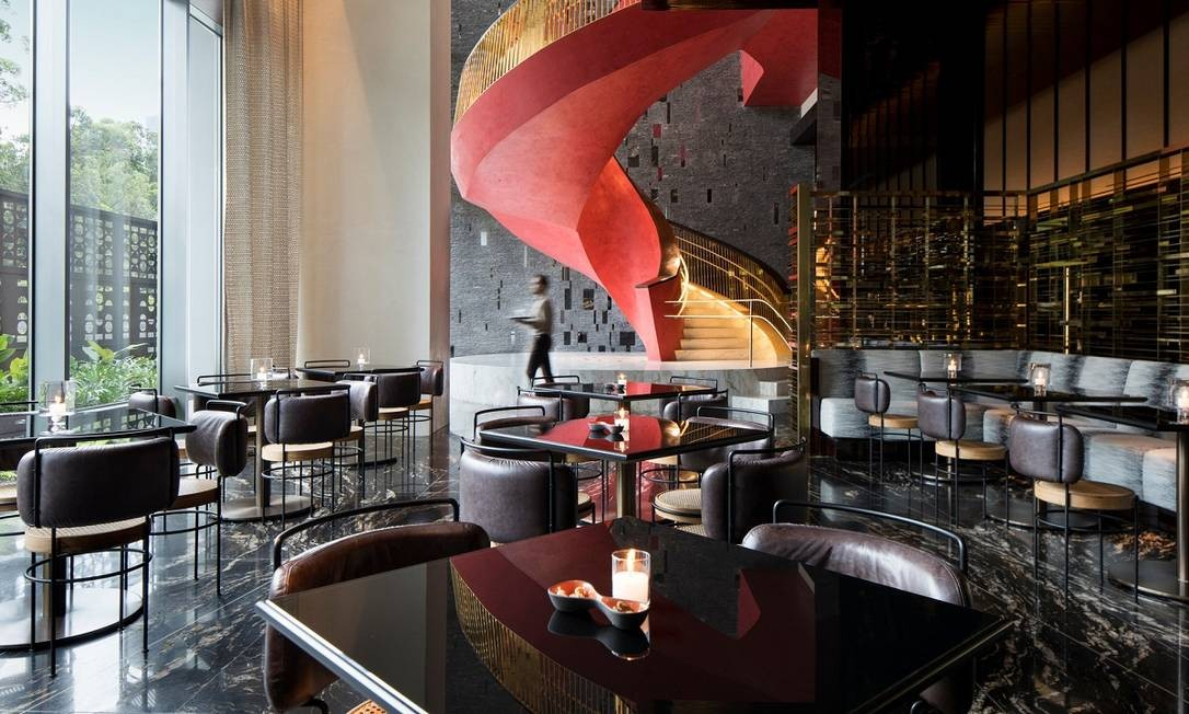 A decoração é um dos destaque do Four Seasons São Paulo, a primeira unidade da rede de hotéis de luxo no Brasil Foto: Divulgação