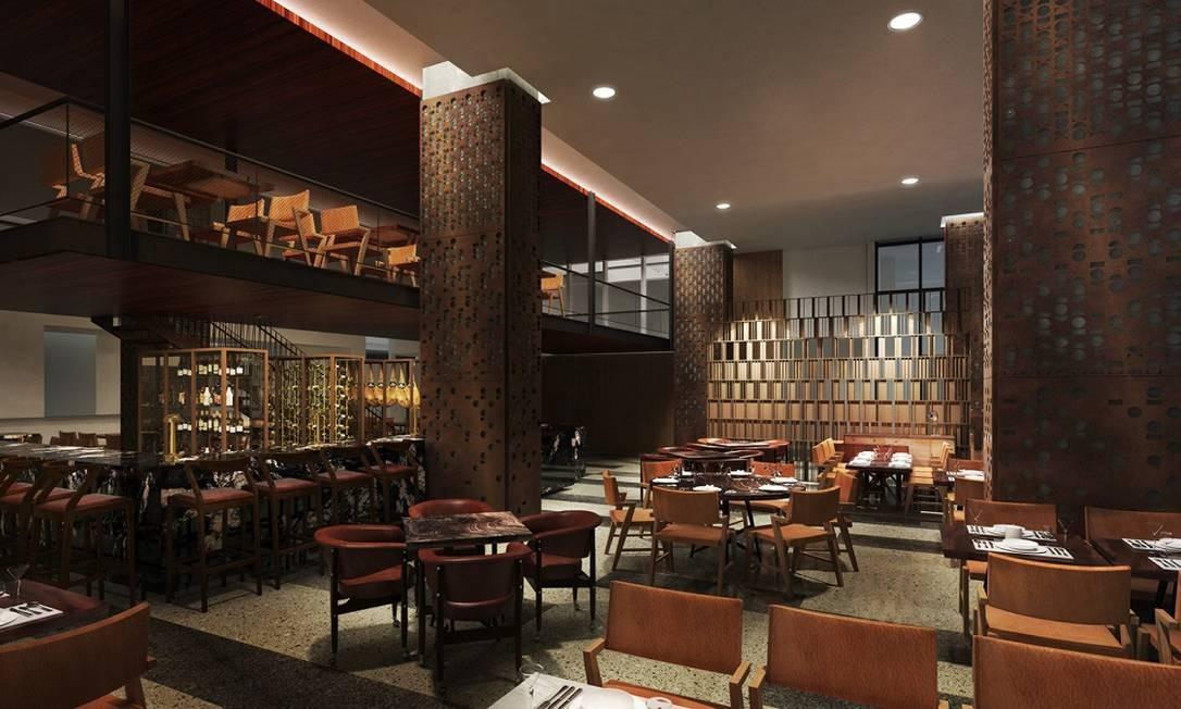 Assim como o restaurante Neto, comandado pelo chef italiano Paolo Lavezzini Foto: Divulgação