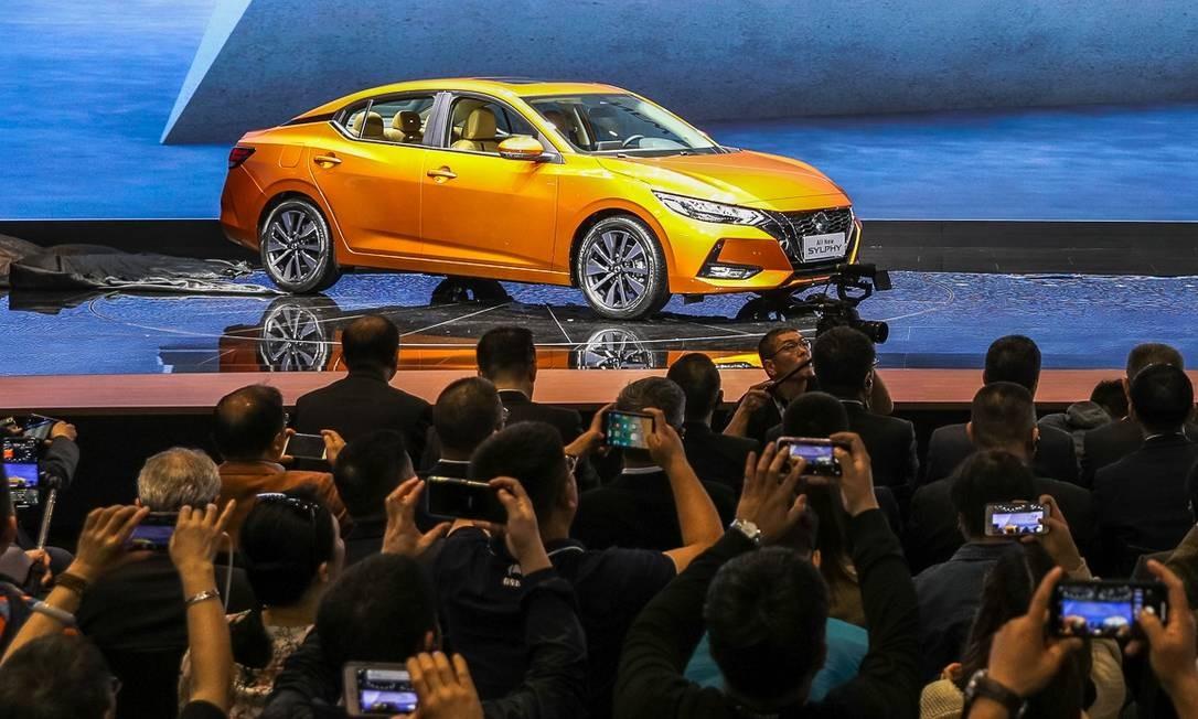Nissan Sylphy, o futuro Sentra Foto: Divulgação