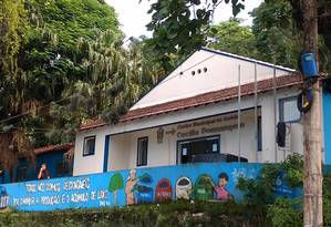 Fachada do Centro Municipal de Saúde Cecília Donnangelo, em Vargem Grande Foto: Reprodução