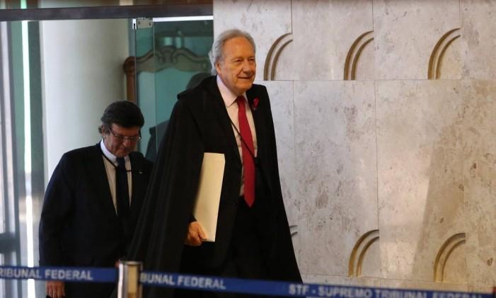 O ministro Ricardo Lewandowiski Foto: Ailton de Freitas / Agência O Globo