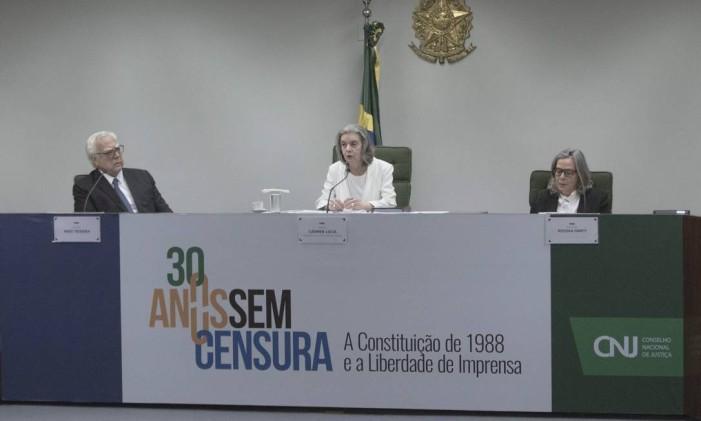 A ministra Carmen Lúcia Foto: Daniel Marenco / Agência O Globo