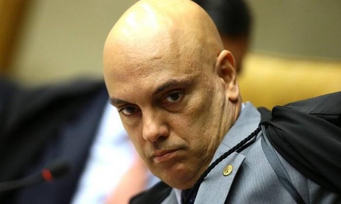 O ministro Alexandre de Moraes Foto: Jorge William / Agência O Globo