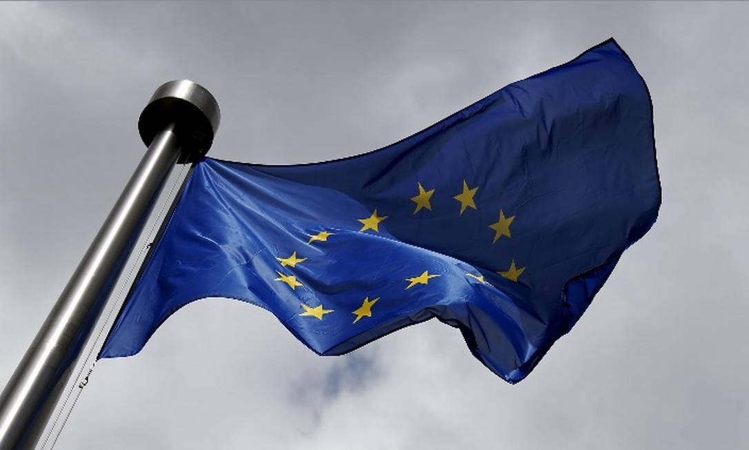 Bandeira da União Europeia Foto: / Reuters
