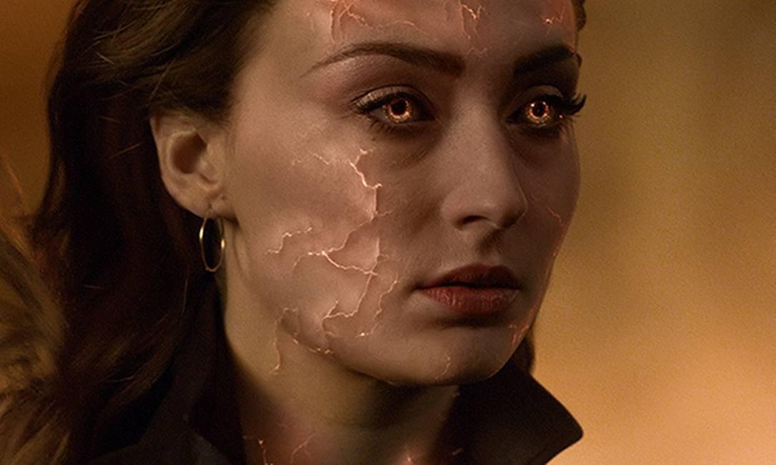 """A atriz Sophie Turner em """"X-Men: Fênix Negra"""" Foto: Divulgação"""