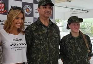 Coronel Cerqueira pediu ajuda para a ativista Luisa Mell no resgate de mais de 1.700 cães em São Paulo Foto: Arquivo Pessoal / Instagram