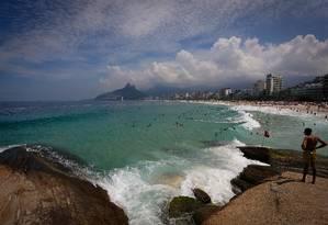 Segundo Climatempo, feriado da Páscoa será de sol no Rio Foto: Pablo Jacob / Agência O Globo