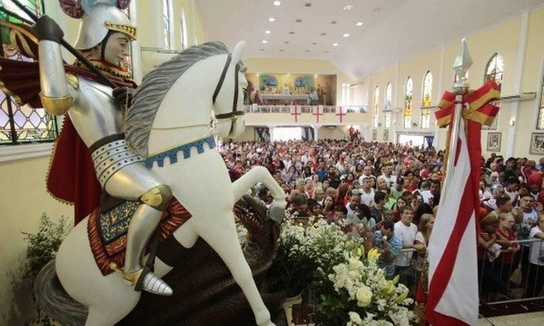 Dia de São Jorge é feriado no Rio de Janeiro e cai na terça-feira Foto: / Thiago Freitas - Agência O Globo