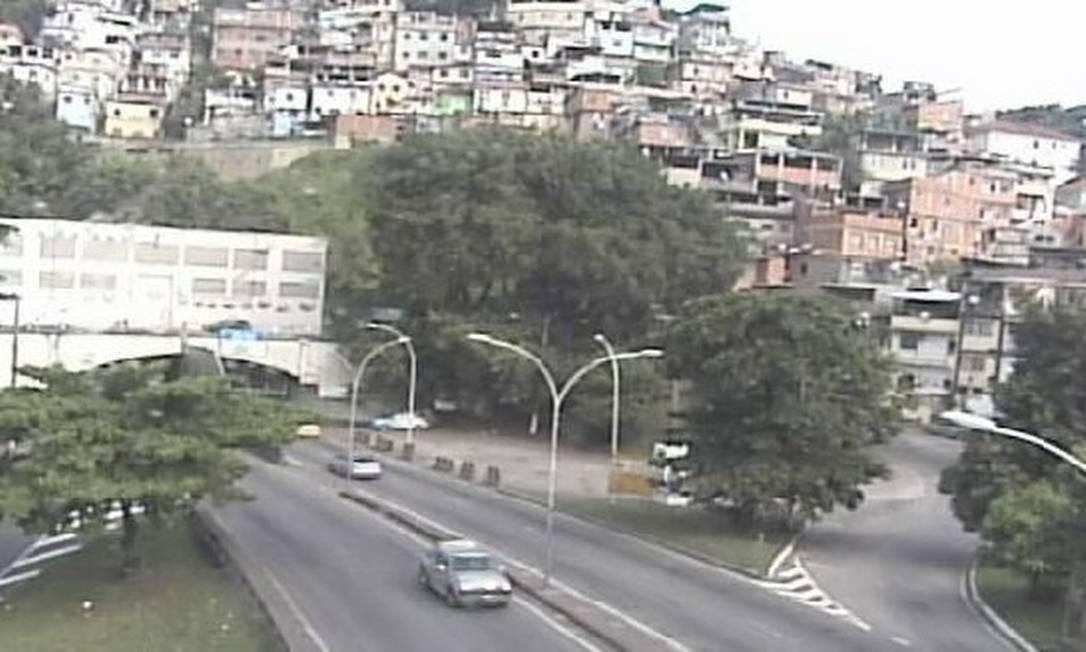 Túnel Santa Bárbara, que liga a Zona Sul ao Centro Foto: Reprodução/Centro de Operações