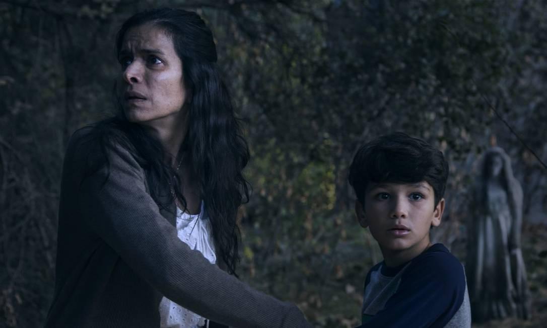 'A maldição da chorona': 'Filme do estreante Michael Chaves entrega o que os fãs esperam: sustos e mais sustos Foto: Divulgação