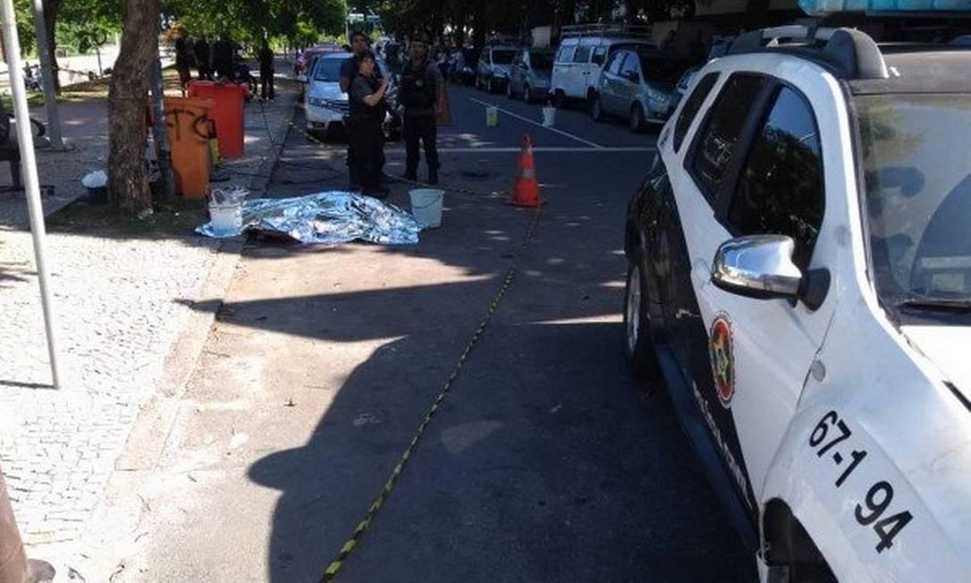 Traficante da Cruzada é morto na Avenida Borges de Medeiros Foto: Divulgação