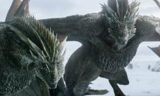 Rhaegal e Drogon, dois dos dragões de Daenerys Targaryen Foto: Reprodução / HBO