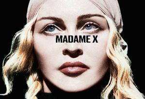 Capa do disco 'Madame X', de Madonna Foto: Divulgação