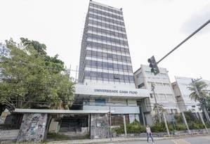 Abandono. O campus na Manoel Vitorino é alvo constante de invasões Foto: Bruno Kaiuca / Agência O Globo