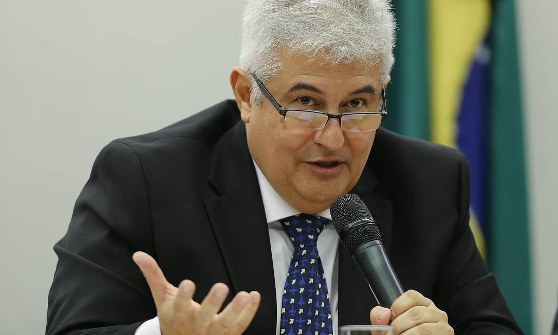 O ministro Marcos Pontes afirma que orçamento privilegiará bolsas e unidades de pesquisa Foto: Jorge William/10-4-19 / Agência O Globo