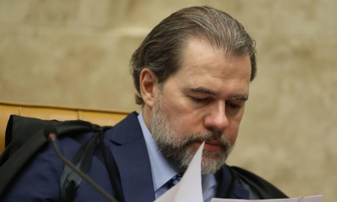 Juízes aposentados interessados em burlar a regra da OAB se beneficiaram com a decisão de Toffoli Foto: Ailton de Freitas / Agência O Globo