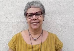 A escritora e professora da UFRJ Georgina Martins Foto: Acervo pessoal