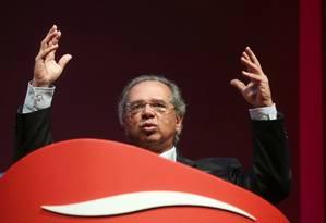 O ministro da Economia, Paulo Guedes Foto: Amanda Perobelli / Reuters