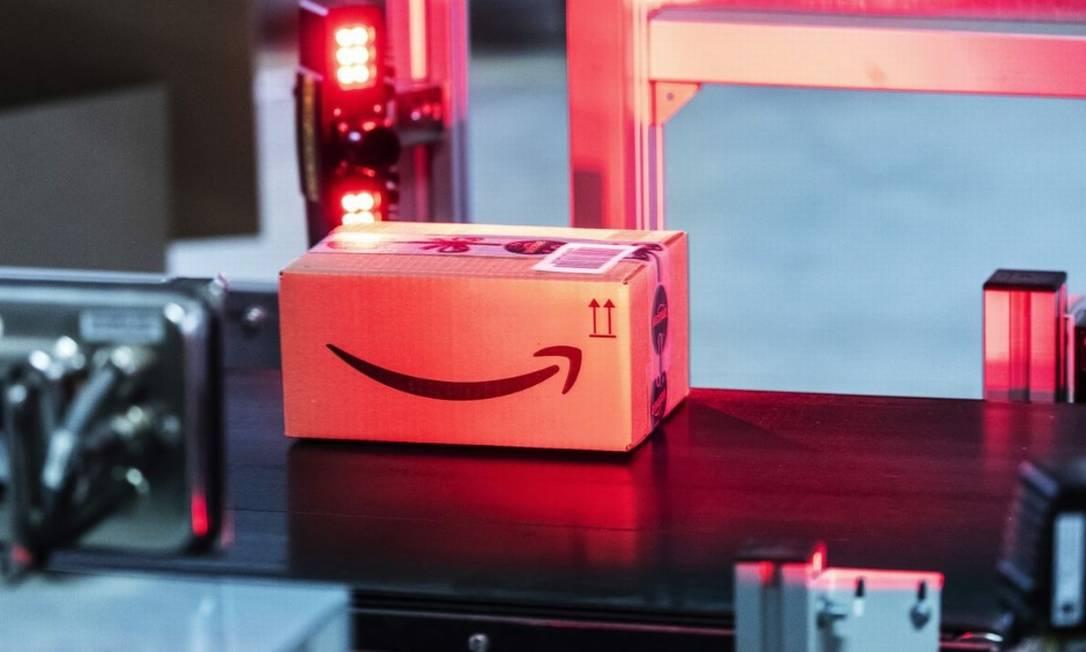 Amazon enfrenta na China a concorrência de grandes empresas de e-commerce, como Alibaba e JD.com Foto: Bloomberg