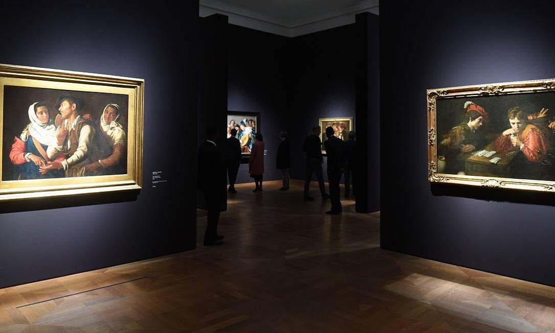 A mostra é uma parceria da pinacoteca alemã com o Museu Central de Utrecht, na Holanda, dona de parte das obras em exibição Foto: CHRISTOF STACHE / AFP