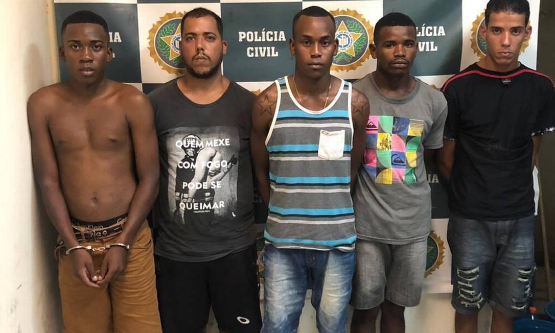 Homens são acusados de formar milícia na Baixada Foto: Reprodução