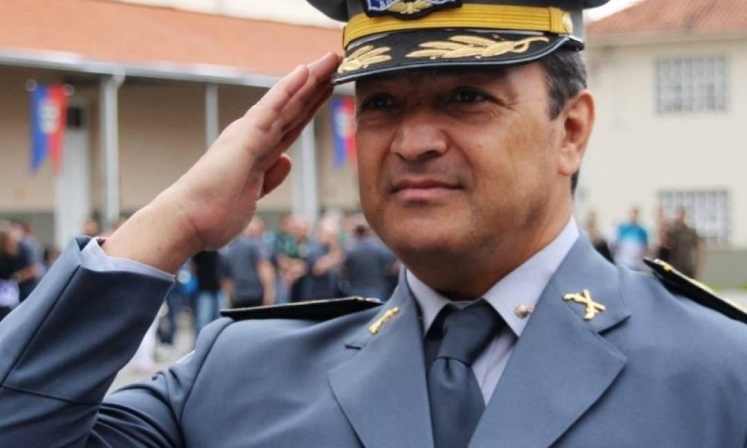 Coronel Homero de Giorge Cerqueira, que era comandante da PM Ambiental de São Paulo, foi indicado para a presidência do ICMBio Foto: Divulgação