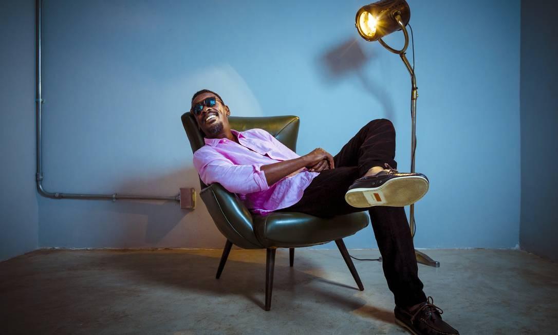 O ator, cantor, compositor Seu Jorge Foto: Leo Martins / Agência O Globo