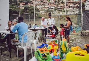 Ocupação Centro Cultural Conexão Favela e Arte funciona no Viradouro Foto: Divulgação