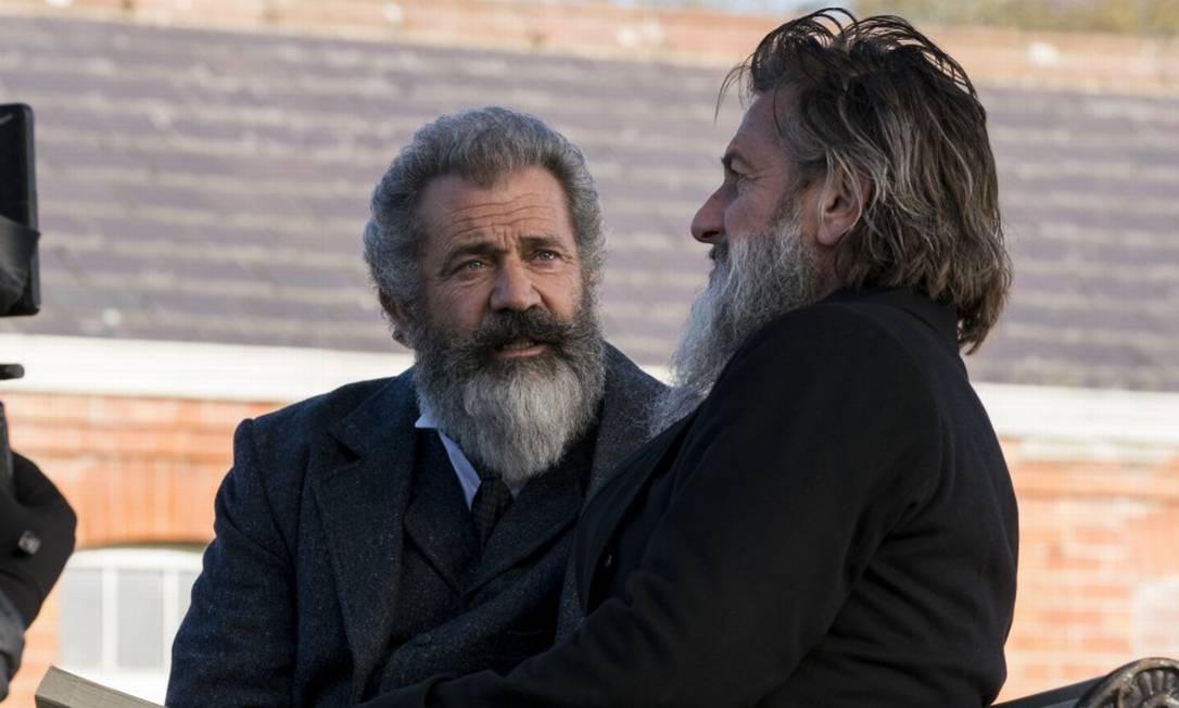 Mel Gibson e Sean Penn Foto: Divulgação