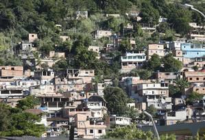 O Morro do Preventório, em Charitas, receberá intervenções Foto: Fábio Guimarães / Fábio Guimarães