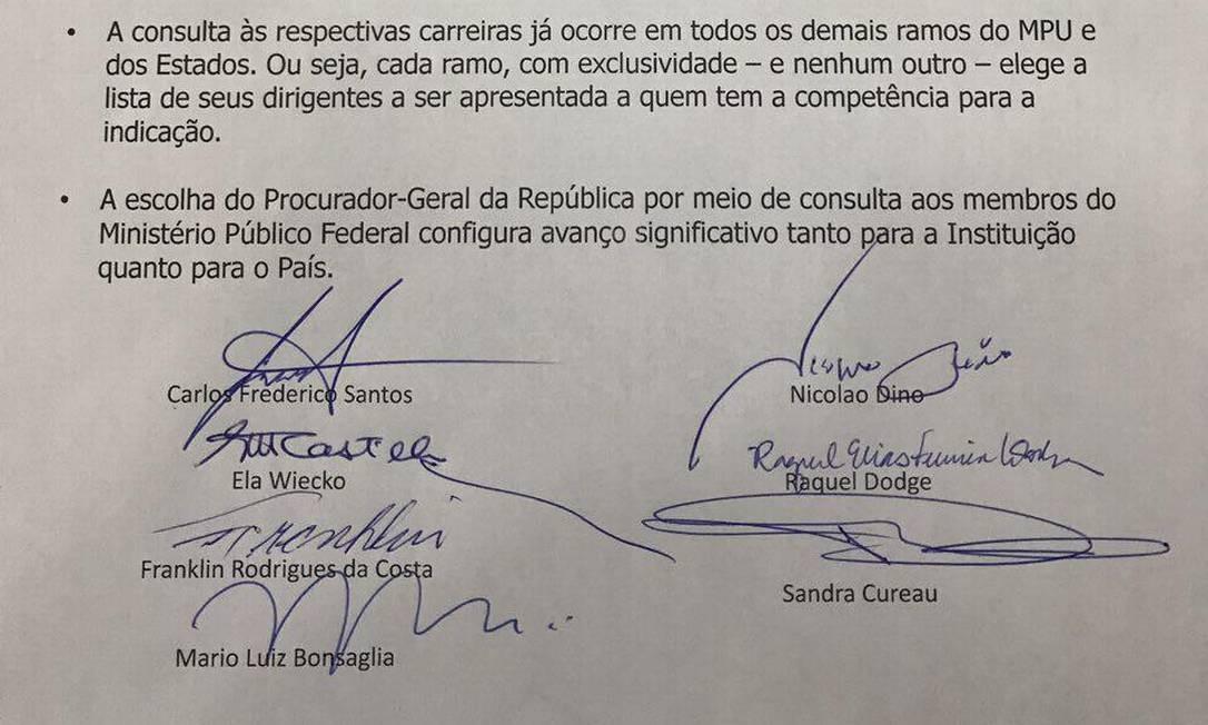 Em 2017, Dodge defendeu a lista Foto: Coluna Guilherme Amado/Agência O Globo