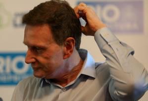 O prefeito do Rio de Janeiro, Marcelo Crivella Foto: Pedro Teixeira / Agência O Globo