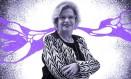 México. Depois de experiência no Brasil, Nadine Gasman assumiu a presidência do Instituto da Mulher no governo de López Obrador Foto: Arte de Lari Arantes sobre foto Bruno Spada/ONU Mulheres