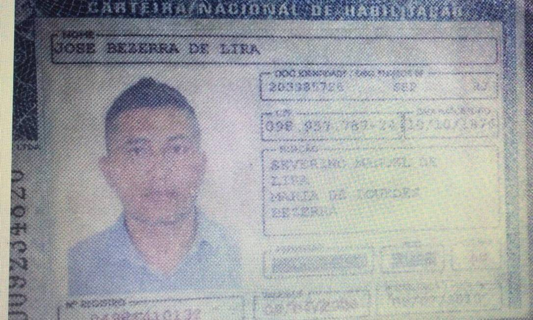 Jose Bezerra de Lira é considerado foragido pela Justiça Foto: Arquivo