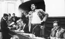 Alan García, quando ainda era membro do congresso Foto: Getty Images / Getty Images