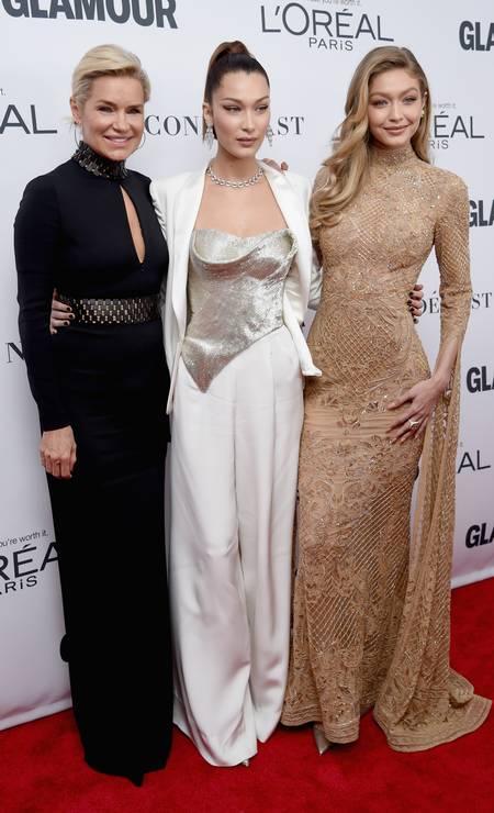 Mais um clique do trio maravilha Foto: Getty Images for Glamour
