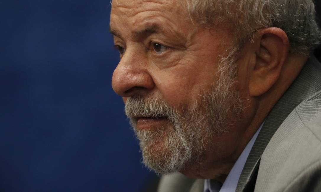 O ex-presidente Luiz Inácio Lula da Silva em 2015 Foto: Igo Estrela / Getty Images