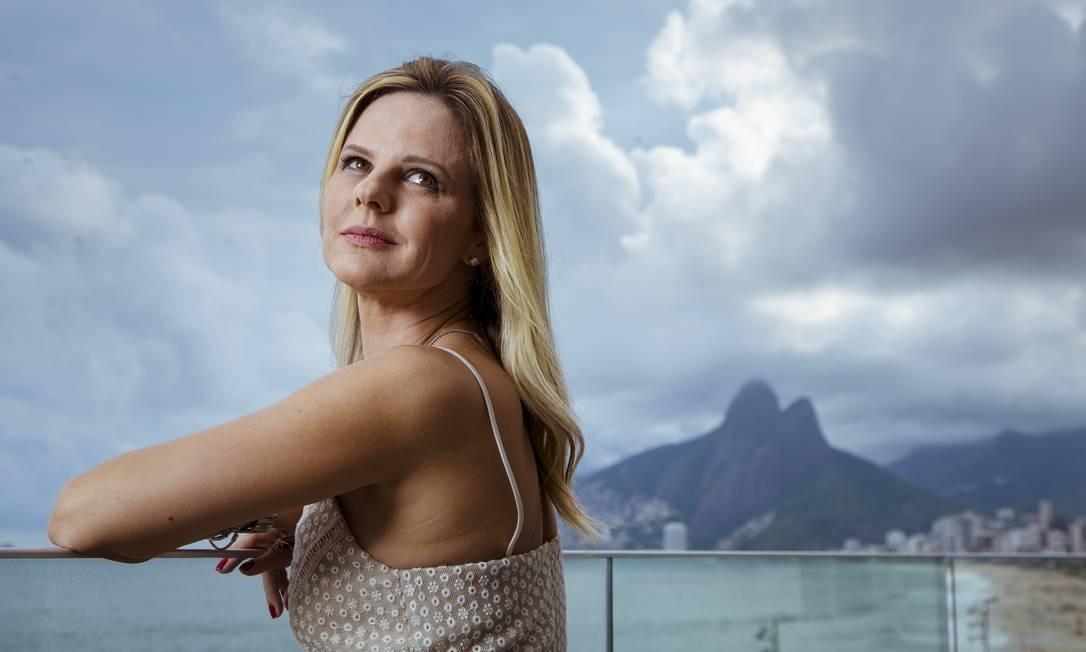 Juliana Martins de Oliveira, que comanda a loja Mixed Foto: Leo Martins/ O Globo
