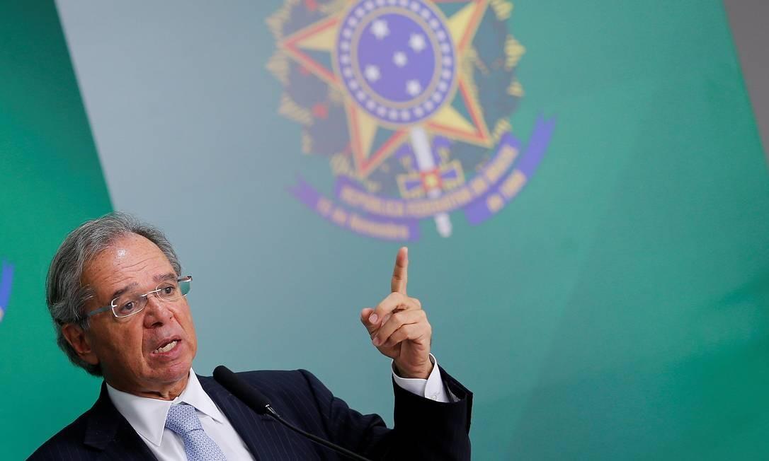 Guedes: estatal deve ser independente, defende ministro. Foto: ADRIANO MACHADO / REUTERS