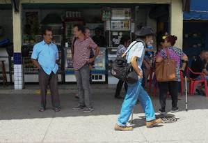 Em Mendes, no Centro-Sul fluminense, há 1,3 aposentado do INSS para cada trabalhador formal Foto: Pedro Teixeira / Agência O Globo