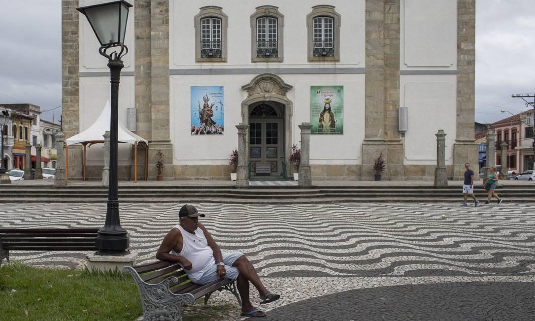 Iguape, em São Paulo Foto: Edilson Dantas / Agência O Globo