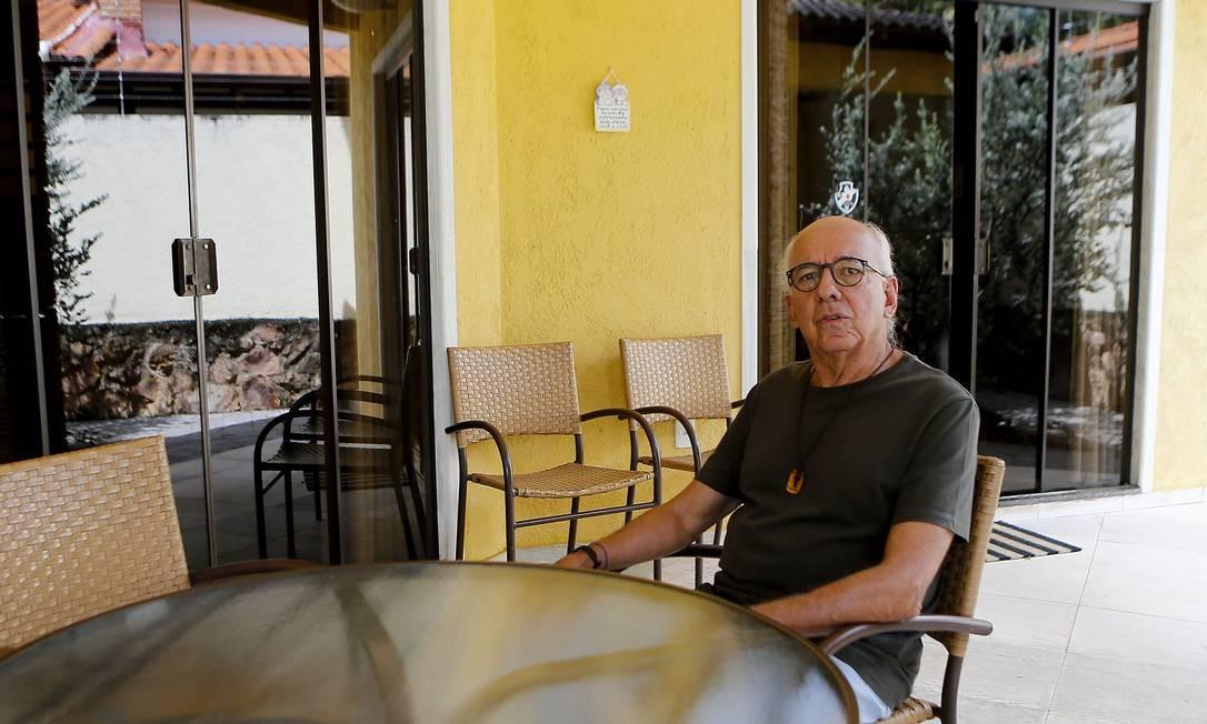 Ex-procurador-geral da República Claudio Fonteles: 'O STF não investiga nada. Quem tem que investigar é o MP' Foto: Jorge William / Agência O Globo