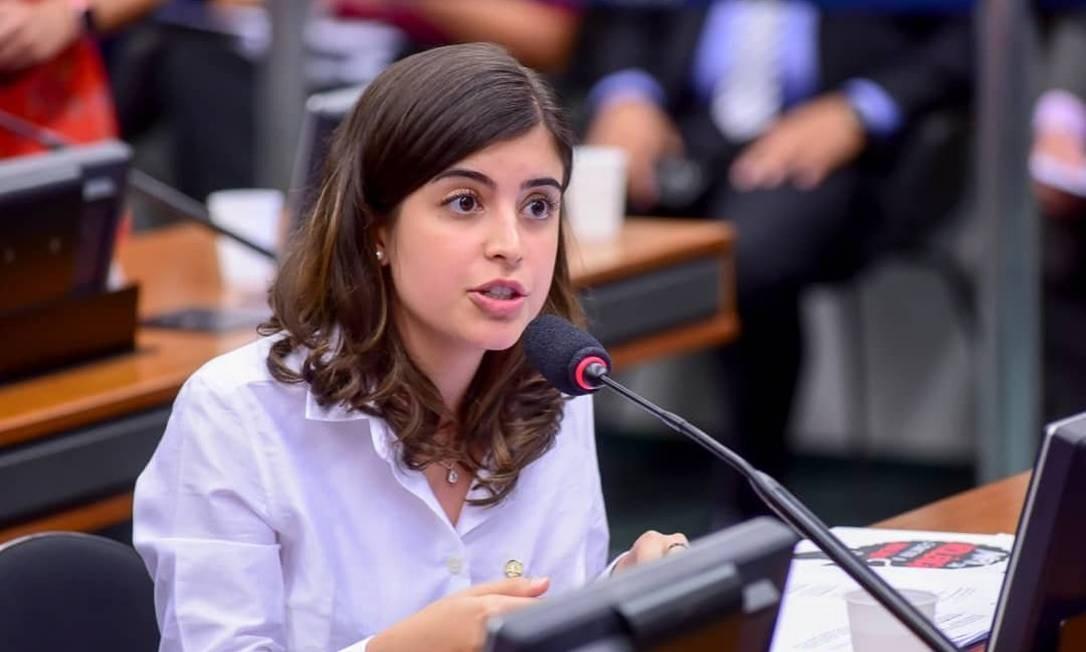 A deputada Tabata Amaral (PDT-SP) quer que o ministro da Educação esclareça os critérios de cortes Foto: Zeca Ribeiro / CMulher