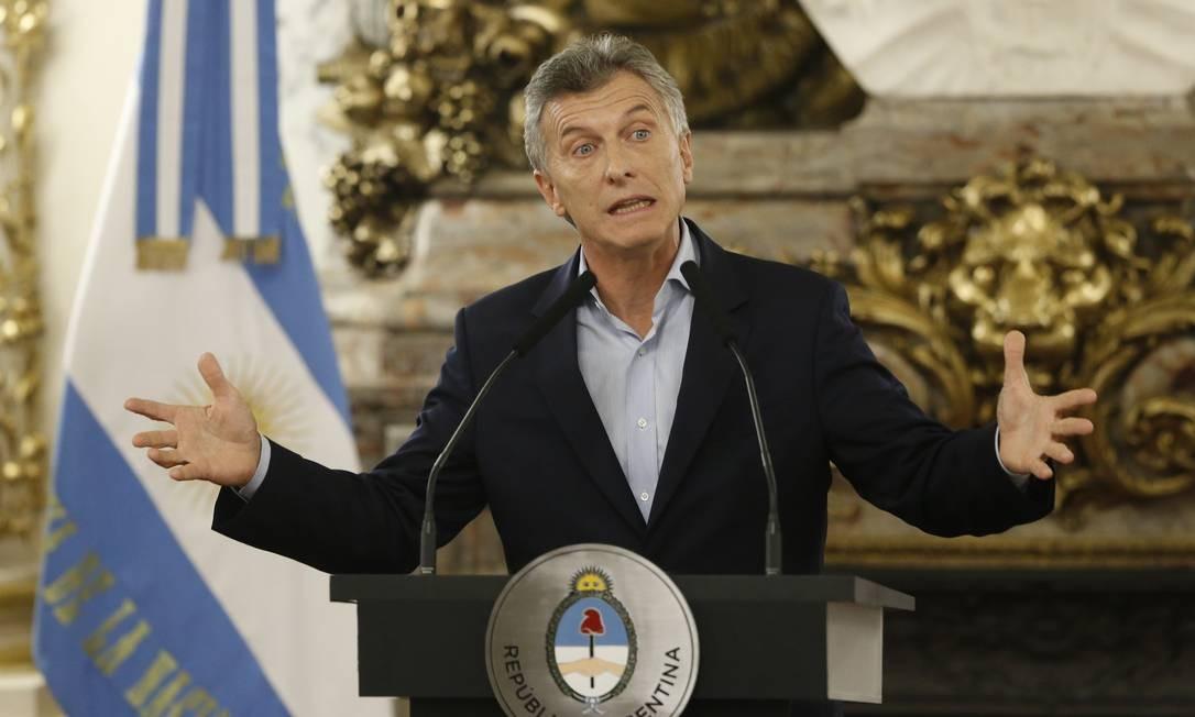 O presidente da Argentina, Maurício Macri Foto: Gabriel Rossi / LatinContent/Getty Images