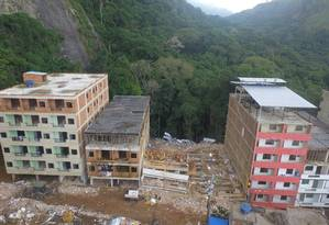 Buscas duraram nove dias na região Foto: Richard Santos / Prefeitura do Rio