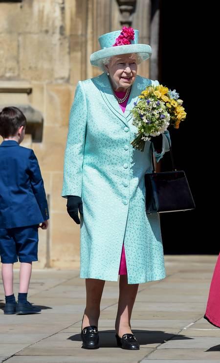 Look de Elizabeth II Foto: Eamonn M. McCormack / Getty Images